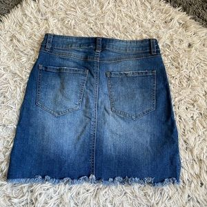 Skirts - Denim skirt